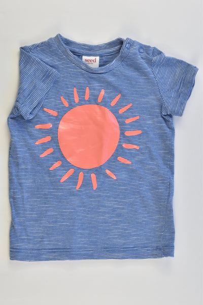 Seed Heritage Size 00 (3-6 months) Sun T-shirt
