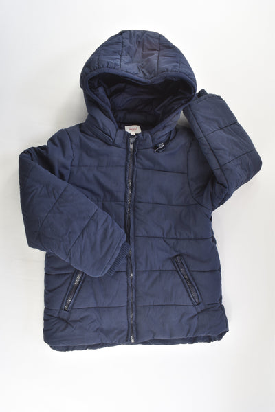 Seed Heritage Size 5-6 Warm Hooded Jacket