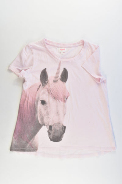 Seed Heritage Size 8 Unicorn Long T-shirt