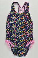 Speedo Size 1 Floral Bathers