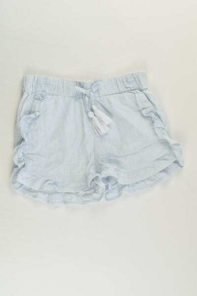 Sprout Size 2 Striped Ruffle Shorts