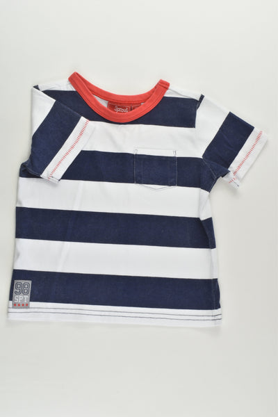 Sprout Size 2 Striped T-shirt
