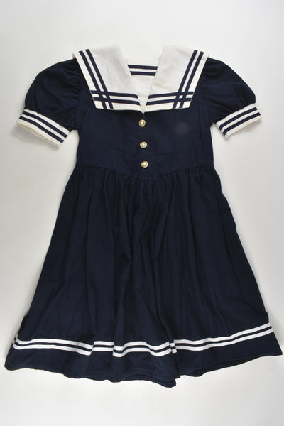 St Michael from Marks & Spencer Size 7 Vintage Sailor Dress