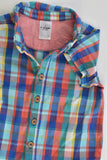 Target Size 0 (6-12 months) Checked Collared Shirt
