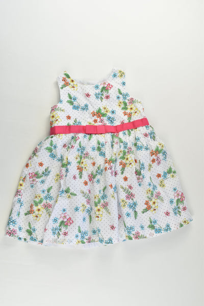 Target Size 0 (6-12 months) Lined Floral Tulle Dress