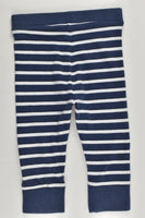 Target Size 0 (6-12 months) Striped Animal Footprints Pants