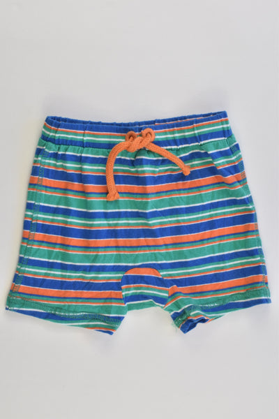 Target Size 00 (3-6 months) Striped Shorts