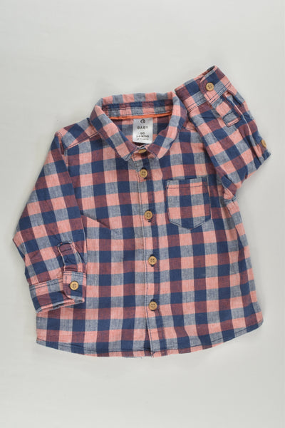 Target Size 00 Checked Shirt