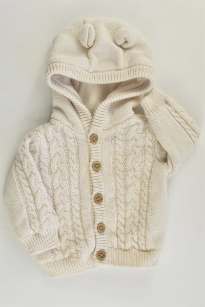 Target Size 0000 Knitted Hooded Jumper