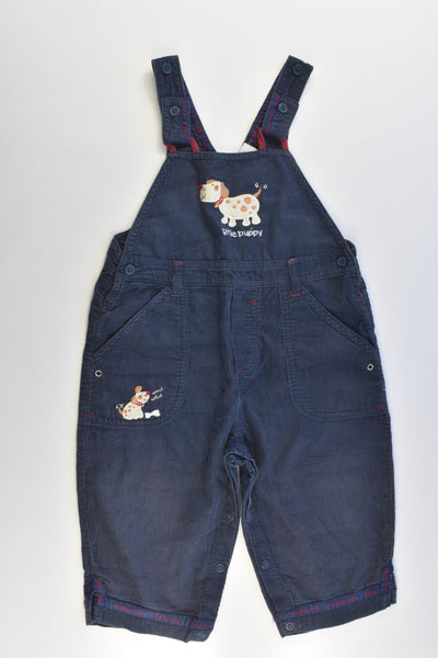 Target Size 1 'Little Puppy' Lightweight Cord Overalls