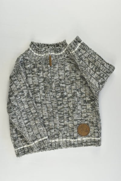 Target Size 1 'Outdoor Adventure' Knitted Jumper