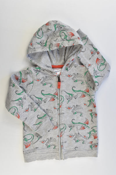 Target Size 2 (18-24 months) Dragons Hooded Jumper