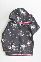 Target Size 2 Unicorn Hooded Jumper