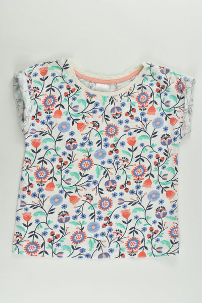 Target Size 3 Floral T-shirt