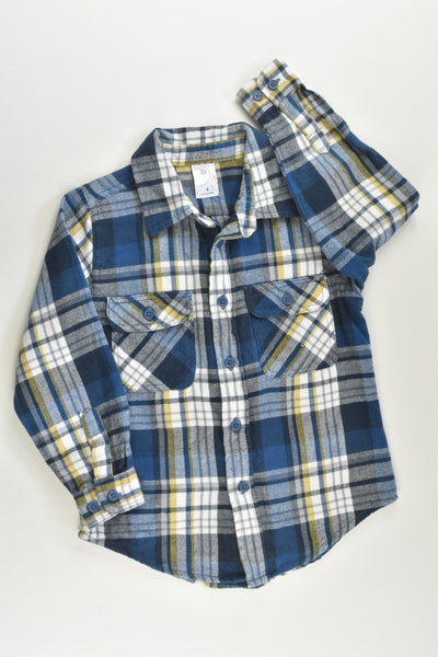 Target Size 4 Checked Casual Winter Shirt