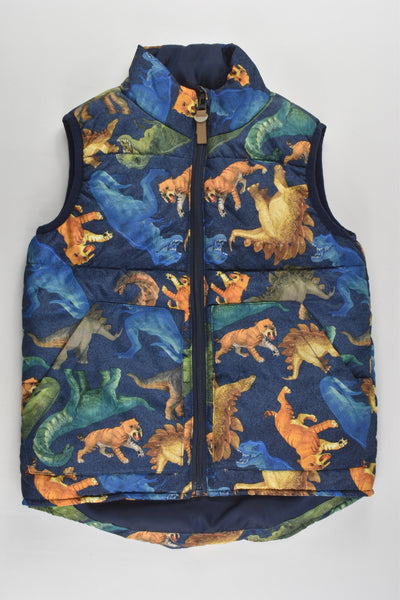 Target Size 5 Dinosaurs Puffer Vest
