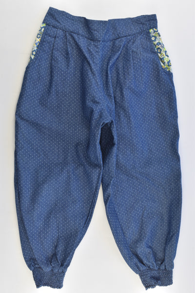 Today I Am (Australia) Size 5-6 Lightweight Baggy Denim Pants