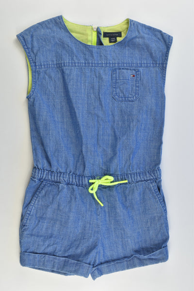 Tommy Hilfiger Size 4 Lightweight Denim Playsuit