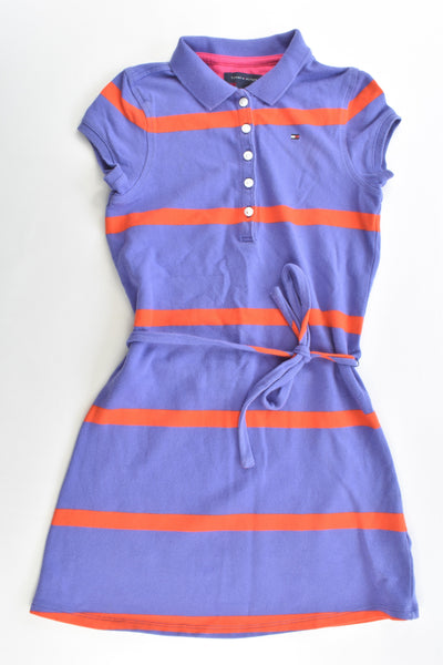 Tommy Hilfiger Size 6-7 Striped Dress with Belt
