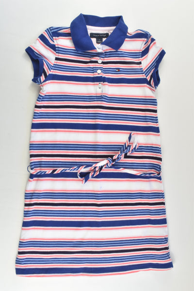 Tommy Hilfiger Size 7 Striped Polo Dress