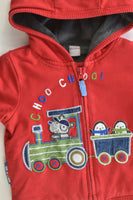 TU Size 9-12 months (74-80 cm) Warm Lined Hooded Jumper