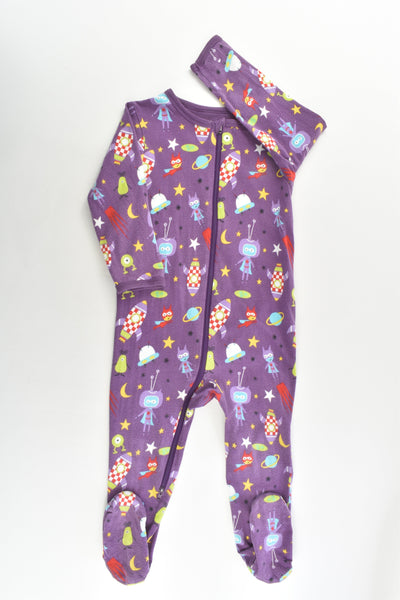 Tutta Size 1 (86 cm) Space Footed Romper
