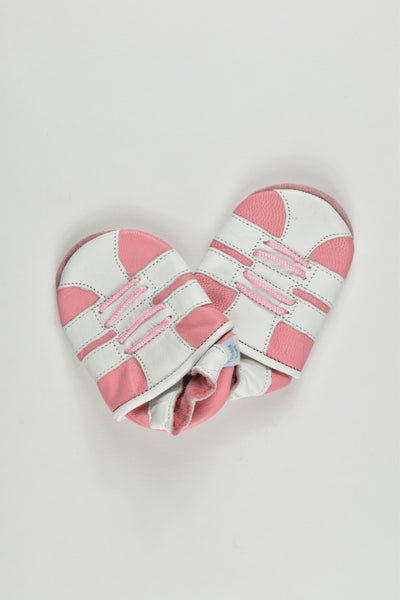 Twinkle Toes Size 0-6 months Leather Slippers