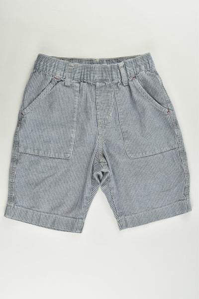 Uniqlo Size 5-6 Lightweight Striped Shorts