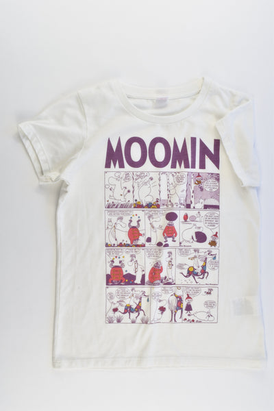 Uniqlo Size approx 8-10 (140 cm) Moomin T-shirt