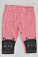 Young Originals Size 000 (0-3 months) Cat Leggings