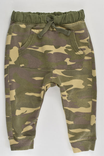 Zara Size 1 (12/18 months, 86 cm) Camouflage Track Pants