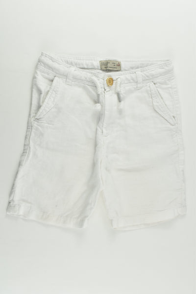 Zara Size 5 (110 cm) Linen/Cotton Shorts