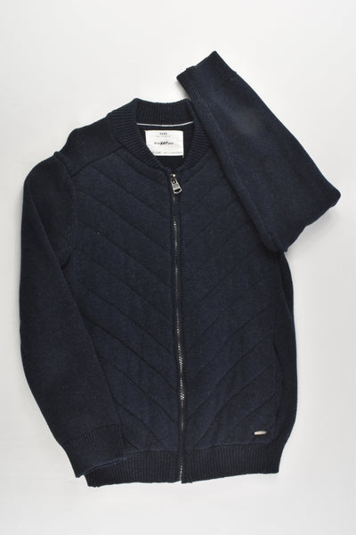Zara Size 7 (122 cm) Navy Blue Knitted Jumper