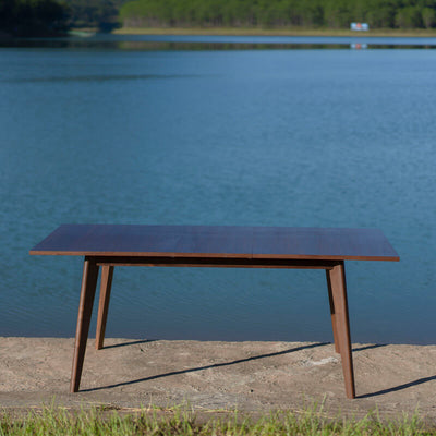 Jerry extendable modern dining table