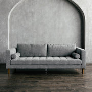 Xavier Shadow - Tweed Fabric Sofa