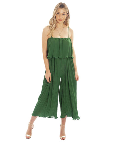 Hire Emerald green Jumpsuit