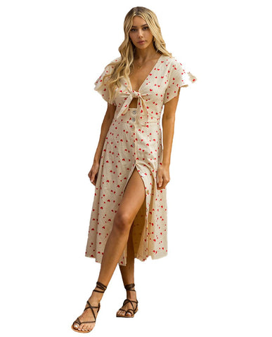 Hire Seven Wonders Sweetheart Print Midi