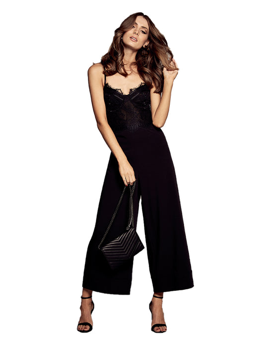 BARDOT BRITTNEY BLACK JUMPSUIT