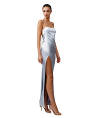 LEXI ESTEL DRESS IN SILVER
