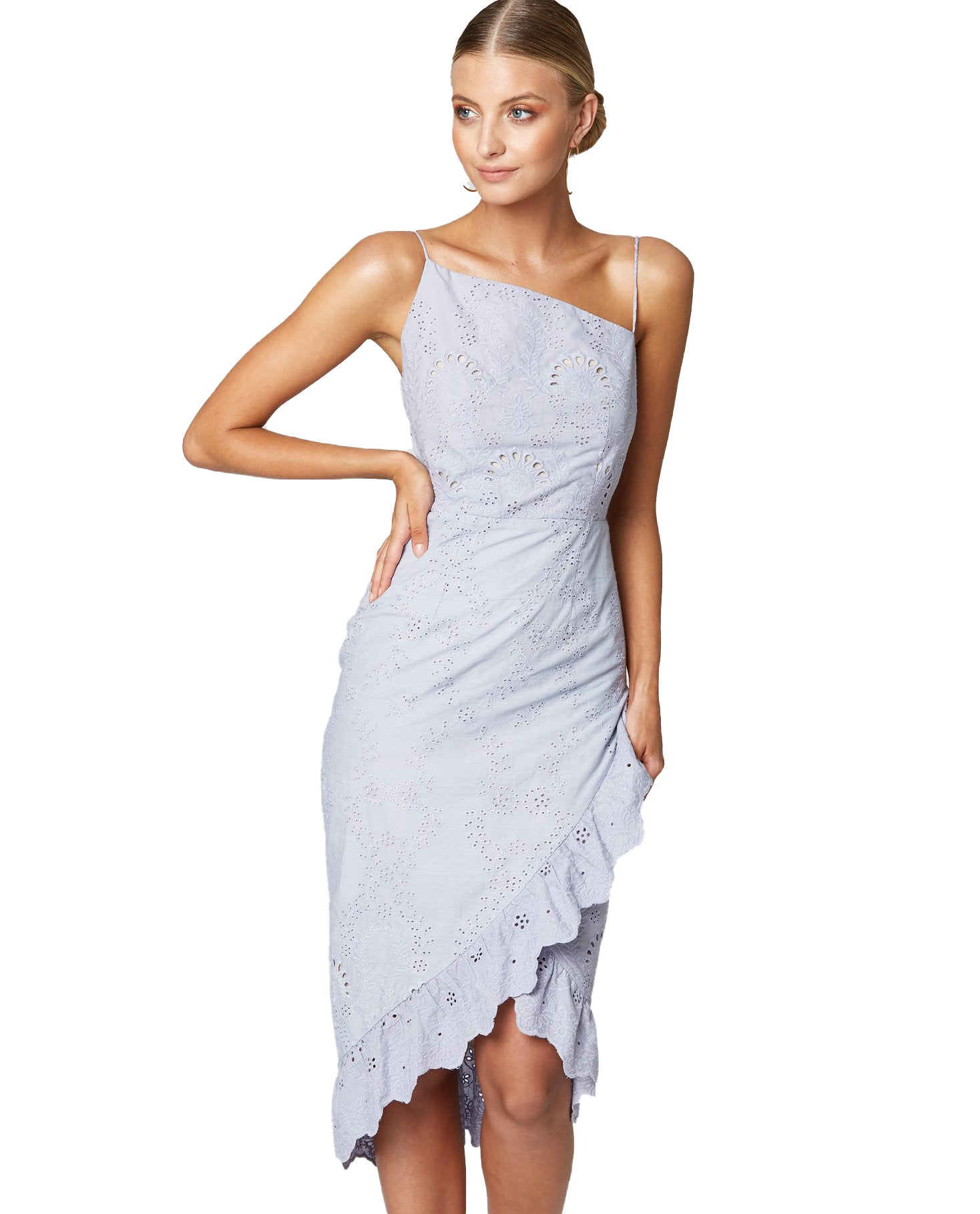WINONA CHARISMA MIDI DRESS IN LILAC