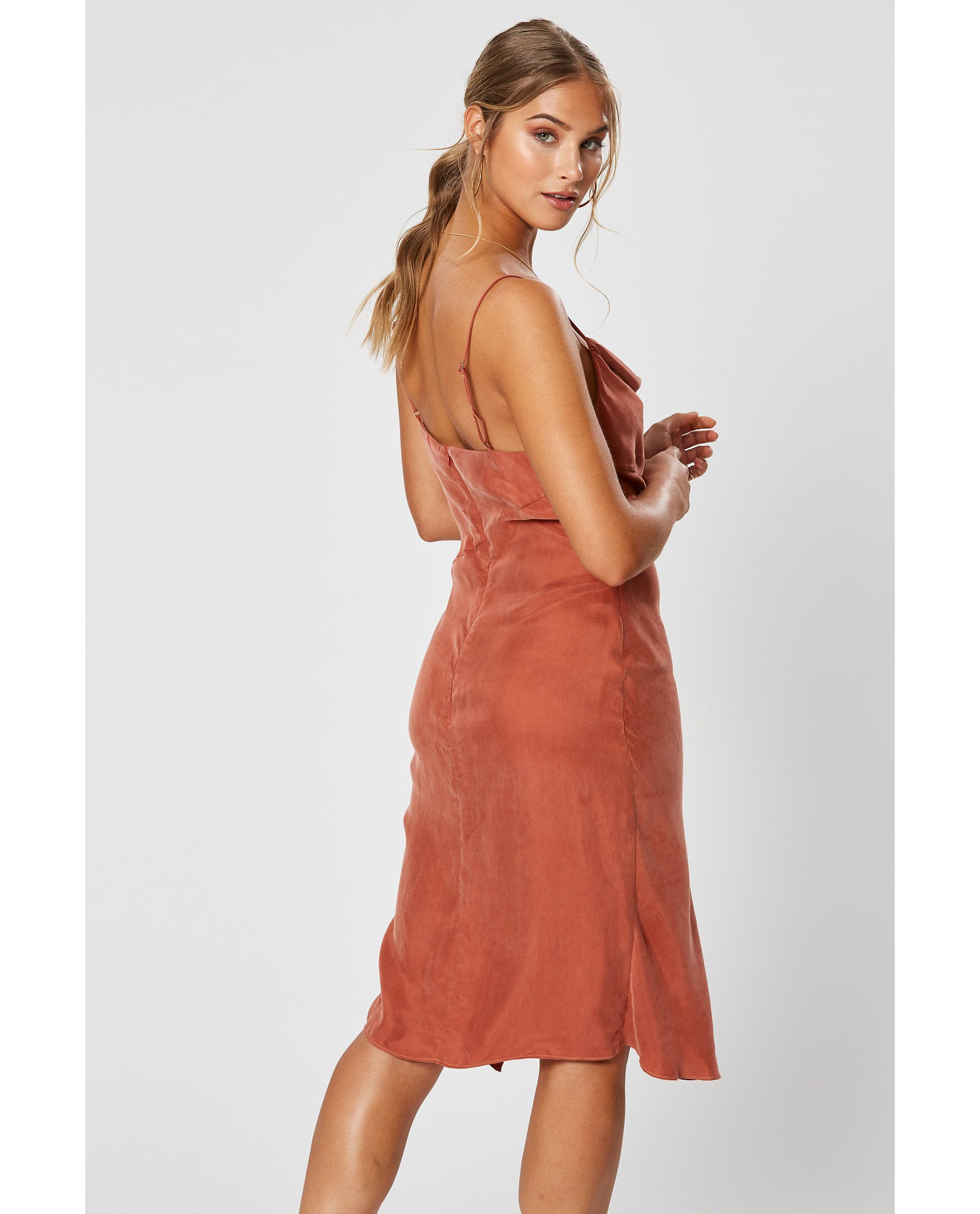 WINONA COPPER SIMONE DRESS