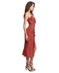 BARDOT LEXIE MIDI DRESS