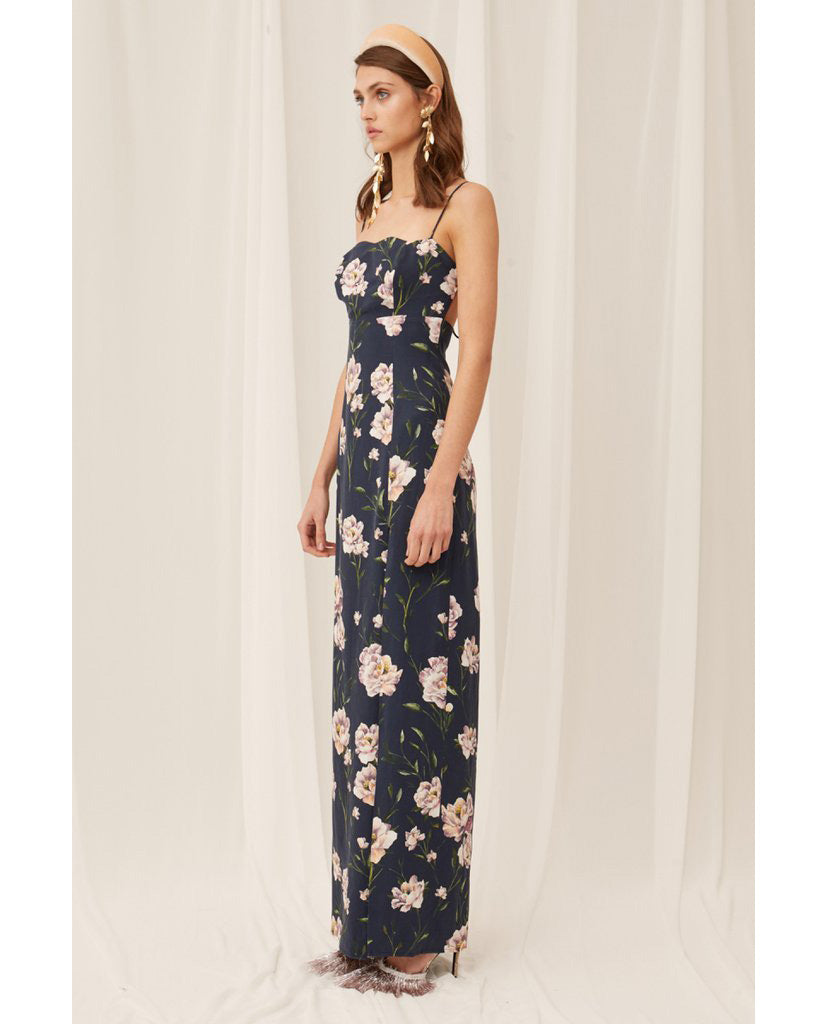 KEEPSAKE THE LABEL MIDNIGHT NOBODY GOWN