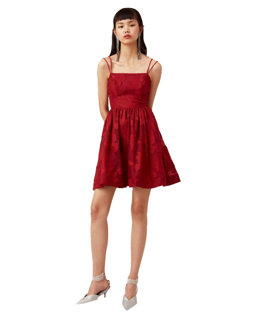 KEEPSAKE THE LABEL OFFSET DRESS