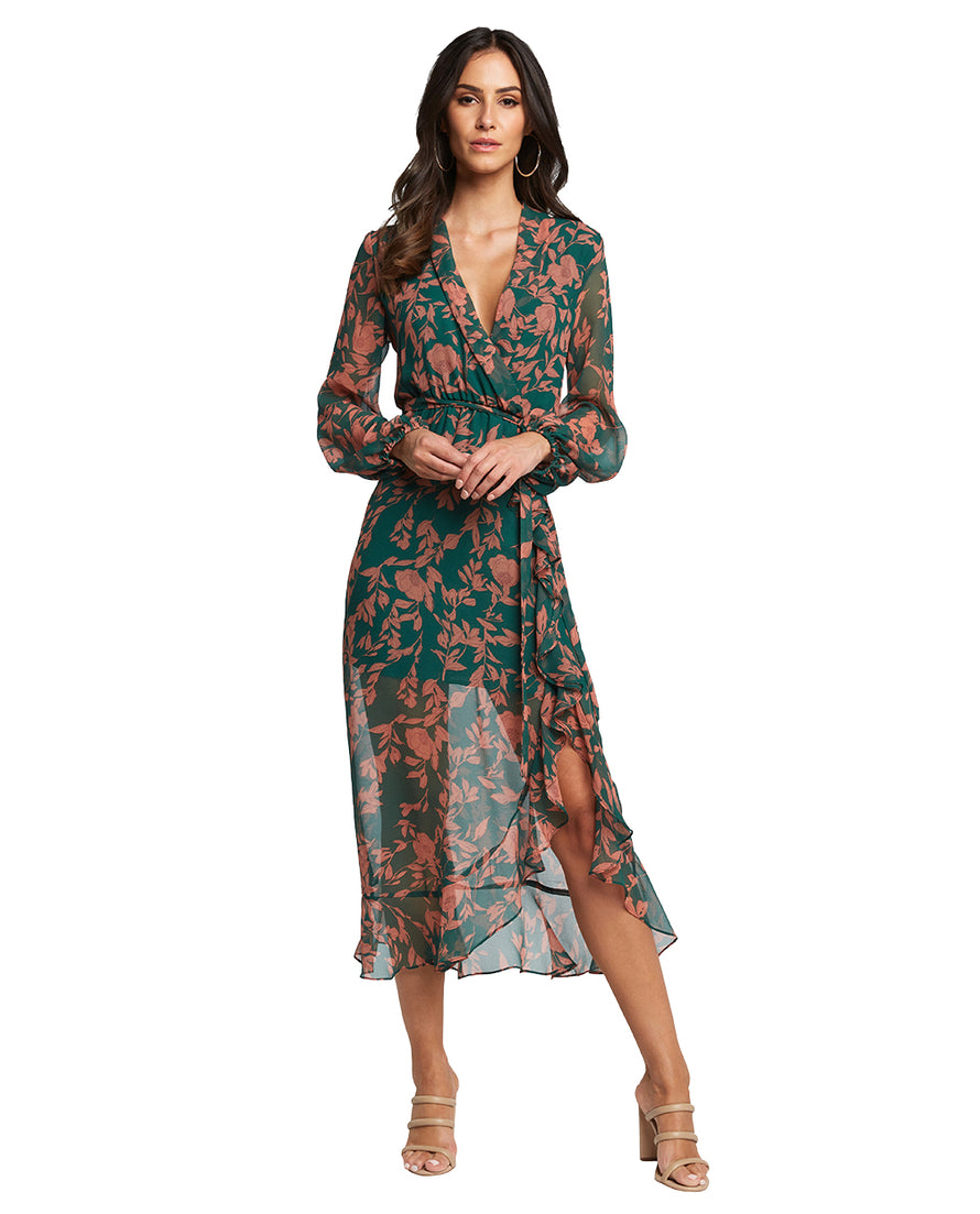 BARDOT JUSTINE FLORAL DRESS