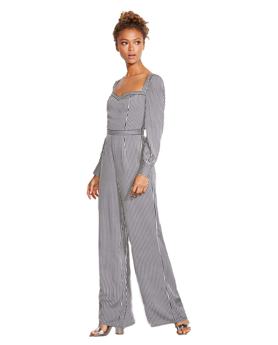 ALI & JAY RETRO STRIPED JUMPSUIT