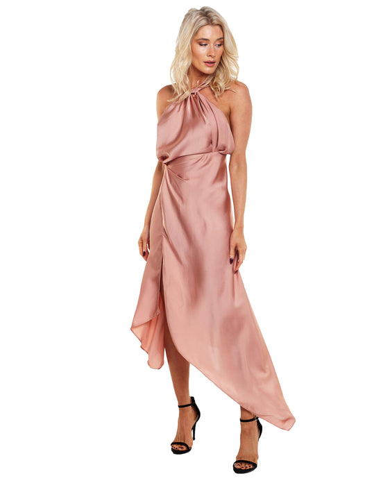 ONE FELL SWOOP AUDREY PINK DRESS