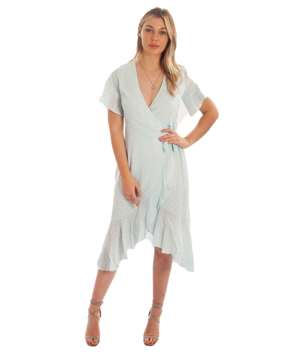 SEVEN WONDERS CLARA BABY BLUE MAXI DRESS
