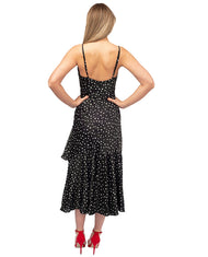 HIRE NEVER FULLY DRESSED BLACK STAR PRINT DRESS