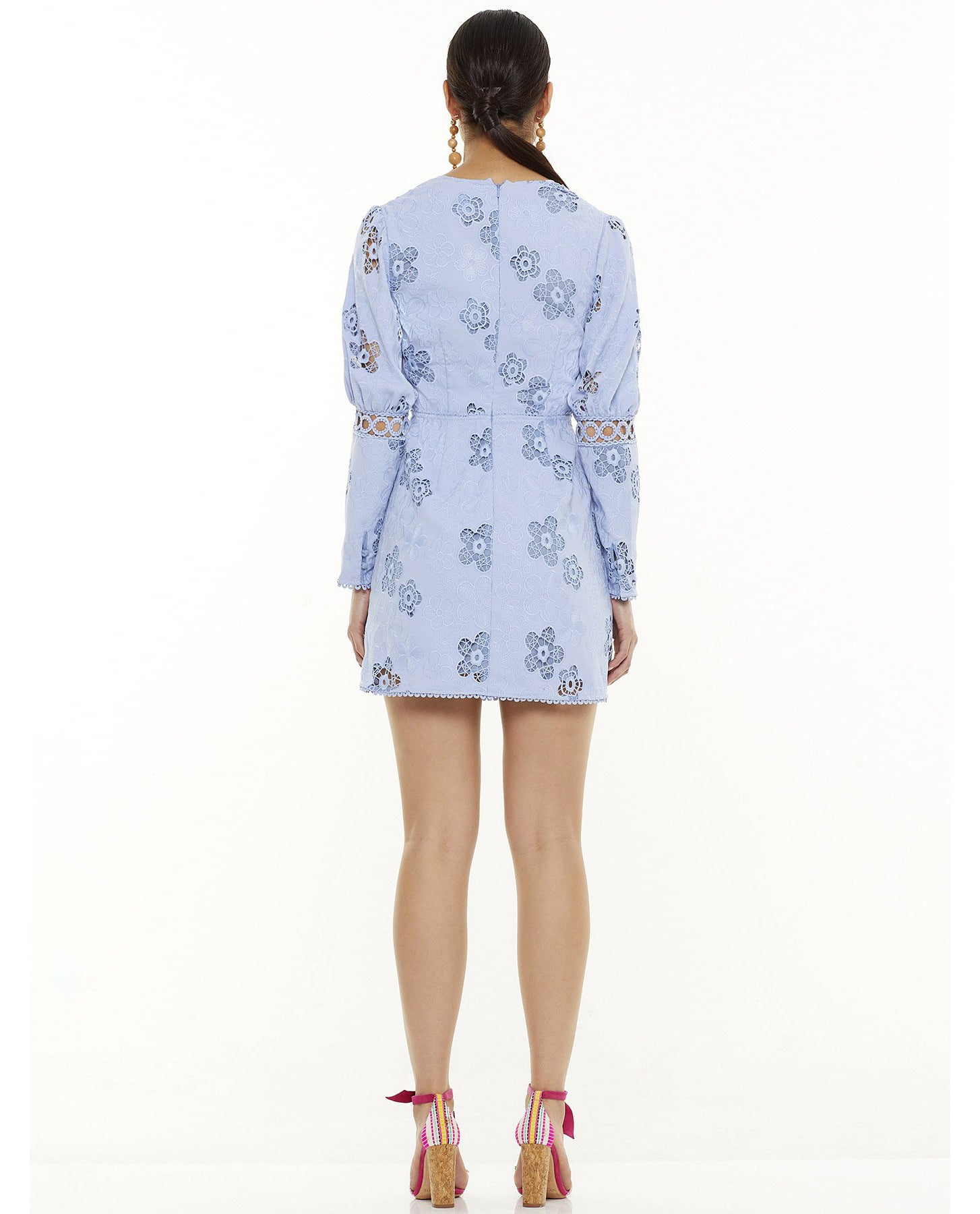 TALULAH BLUE HUE LS MINI DRESS